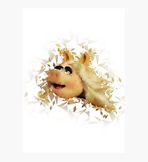 Miss Piggy Photographic Print