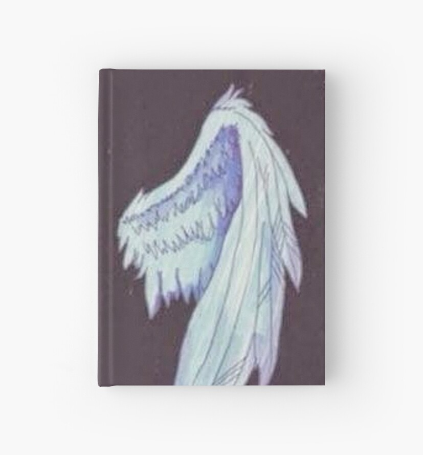 Tumblr Wings Hardcover Journals By Ellelouise101 Redbubble