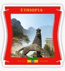 Äthiopien - Der Löwe von Juda Sticker