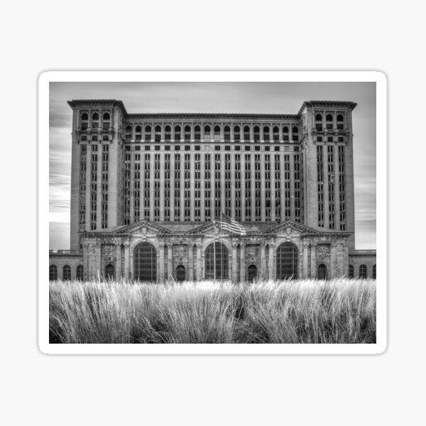 Michigan Central Station Sticker
