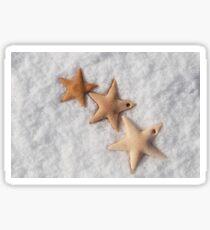 Christmas stars cookies  Sticker