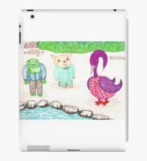 Frog, Hamster, Bird iPad Case/Skin