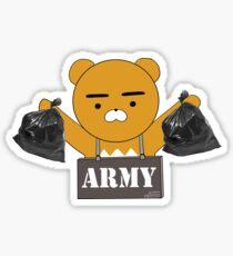 BTS TRASH Sticker