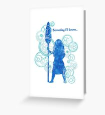 The Stars are Calling Greeting Card
