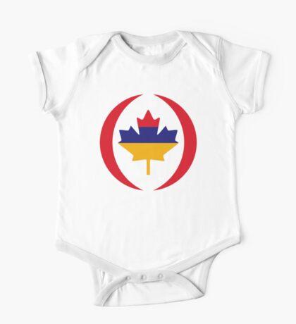 Armenian Canadian Multinational Patriot Flag Series Kids Clothes