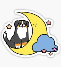Crecent Moon Bernie Sticker
