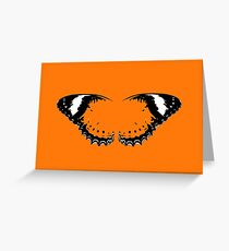 Tips of Butterfly Wings Greeting Card