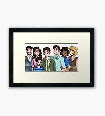 Falsettos Family Framed Print