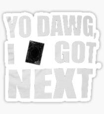 I got next in Yu-Gi-Oh Sticker