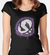 Team Skull Women's Fitted Scoop T-Shirt