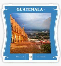 Guatemala - Das Land der Wälder Sticker