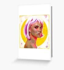 Alice (Closer) Greeting Card