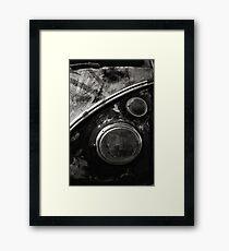 VW Type 2 Split Screen camper / bus Framed Print