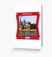 Hungary - The Land of Otherness Greeting Card