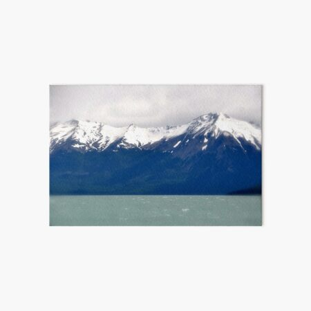 Remembering the Andes Art Board Print