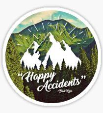 Happy Accidents Sticker