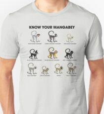 Know Your Mangabey Unisex T-Shirt