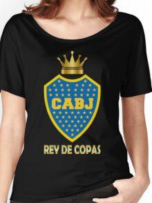 Boca juniors Rey de copas Women's Relaxed Fit T-Shirt