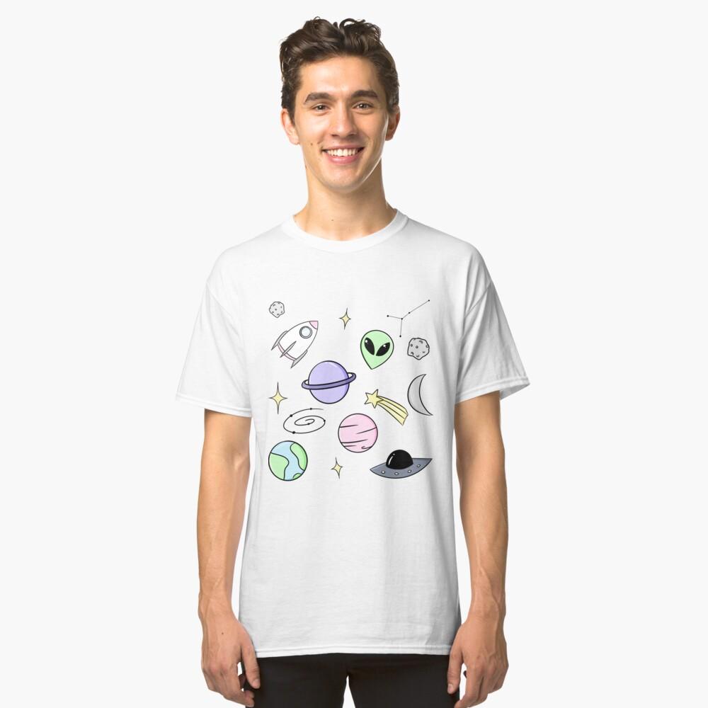 Raum ästhetisch Classic T-Shirt