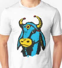 Happy Blue Holy Cow Unisex T-Shirt
