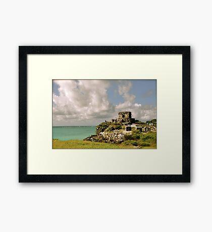 Las Ruinas de Tulum IV Framed Print