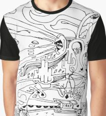 Sketching Graphic T-Shirt