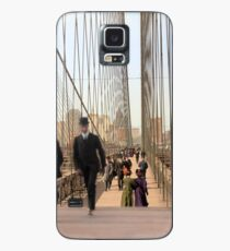 Brooklyn Bridge, New York, 1905 — Colorized Case/Skin for Samsung Galaxy