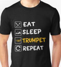 Eat Sleep Trumpet Repeat! Unisex T-Shirt