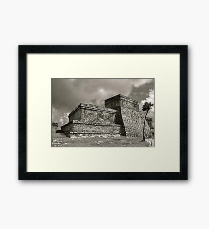 Las Ruinas de Tulum III Framed Print