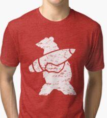 Wojtek the Bear  Tri-blend T-Shirt