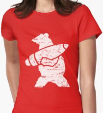 Wojtek the Bear  Womens Fitted T-Shirt