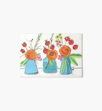 Encouraging Flowers Art Board