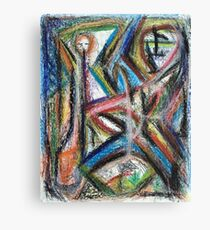 Untitled Figure Canvas Print