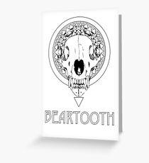 BEARTOOTH fan art Greeting Card