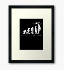 We are made of star stuff Framed Print