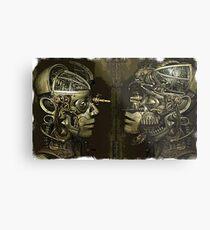 Victorian Steampunk  Metal Print