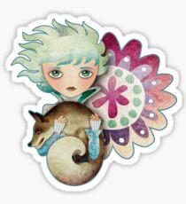 Wintry Little Prince T-Shirt Sticker