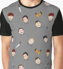 Serial Killers Graphic T-Shirt