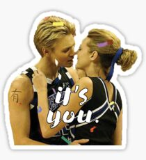 Lucas and Peyton Sticker