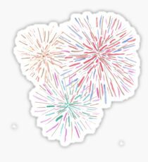 Fireworks Sticker