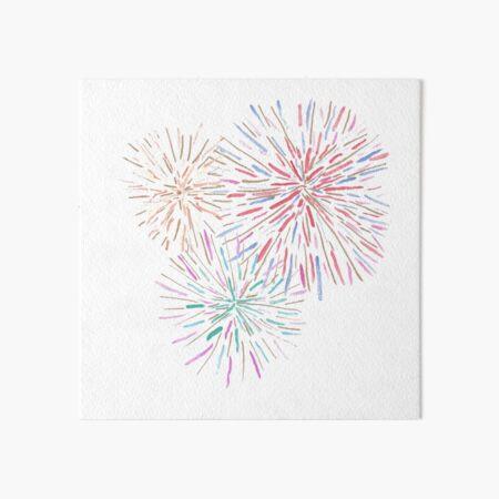 Fireworks Art Board Print