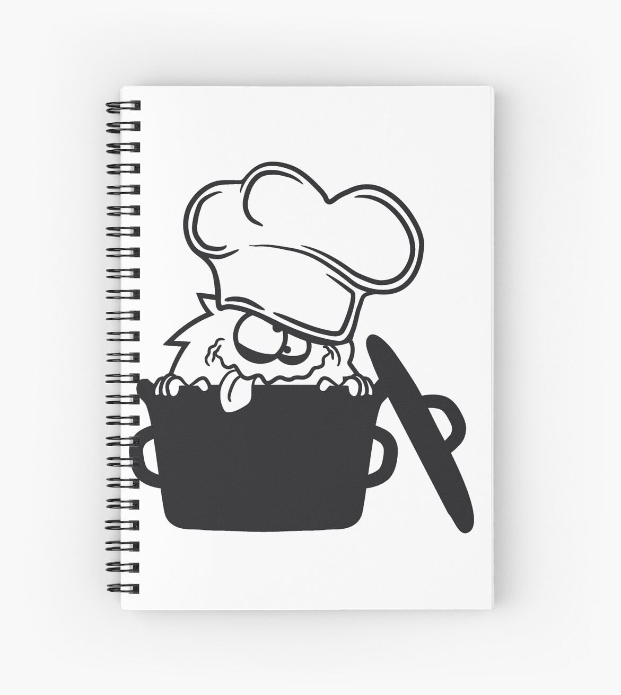 koch hunger topf kochen essen lecker schürze chef küche bescheuert ...