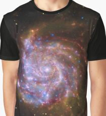 Spiral Galaxy Outer Space Graphic T-Shirt