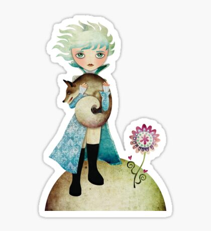 Wintry Little Prince T-shirt Sticker