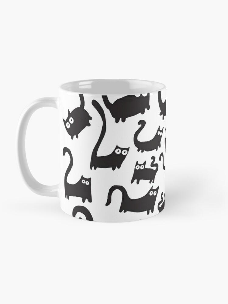 Alternate view of Black cats Mug