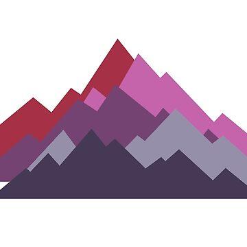 Painted Peaks by BleedBronze