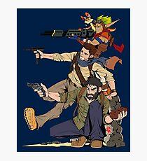 Naughty Dog - Drake, Joel, Jak Photographic Print