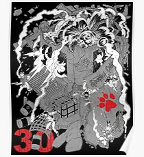 Naughty Dog 30th Anniversary - Chaos Poster
