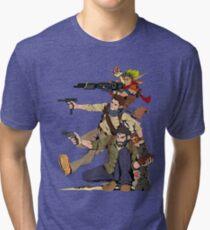 Naughty Dog - Drake, Joel, Jak Tri-blend T-Shirt