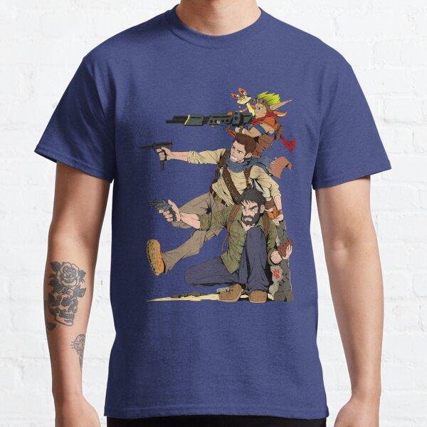 Naughty Dog - Drake, Joel, Jak Classic T-Shirt